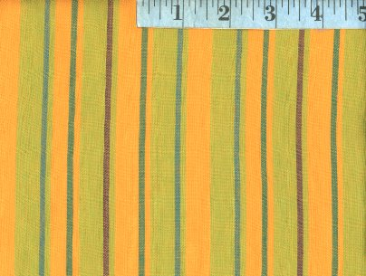 Alternating Yellow Woven Stripes