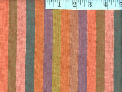 Broad Sunset Woven Stripes