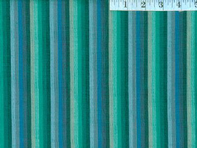 Deep Sea Woven Multi-Stripes