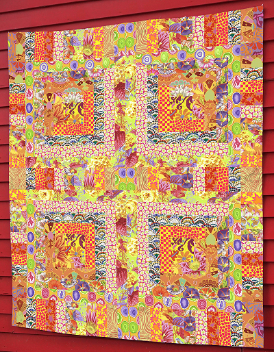 Yellow Mosaic Quilt