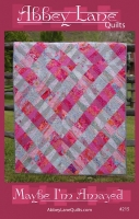 Maybe I`m Amazed Quilt Pattern