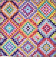 Bright Squares Quilt Fabric Pack