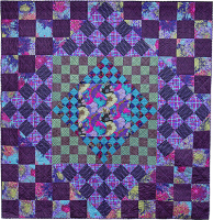 Dark Gameboard Quilt Fabric Pack