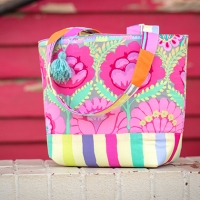 Double Flower Tote
