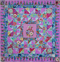 Flowery Jar Quilt Fabric Pack