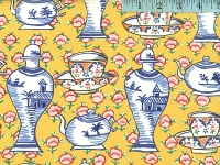 Yellow Delft Pots