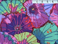 Purple Lotus Leaf