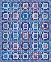 Gathering No Moss Quilt Delft Colorway -- Registration Fee  (non-refundable) 1