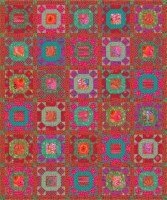 Gathering No Moss Quilt Scarlet Colorway -- Registration Fee  (non-refundable) 1