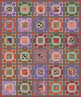 Gathering No Moss Quilt Smoke Colorway -- Registration Fee (non-refundable) 1