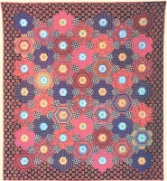 Hexagon Florets Quilt Fabric Pack