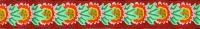 Plum Daisy Ribbon (Narrow)