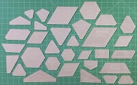 New Hexagon Acrylic Template Set