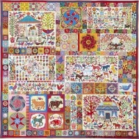 Pandemonium Applique Starter Fabric Pack 1