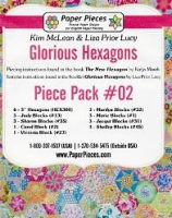 Glorious Hexagons Paper Pieces Pack #02