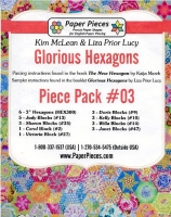 Glorious Hexagons Paper Pieces Pack #03