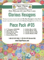 Glorious Hexagons Paper Pieces Pack #05