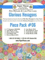 Glorious Hexagons Paper Pieces Pack #06