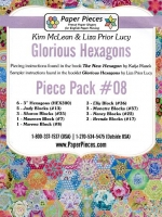 Glorious Hexagons Paper Pieces Pack #08