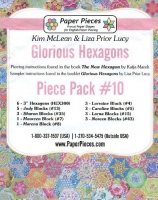 Glorious Hexagons Paper Pieces Pack #10