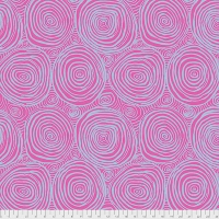 Onion Rings Pink 108 inches wide