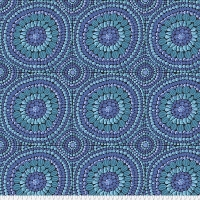 Fruit Mandala Blue