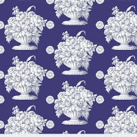 Royal Stone Flower Backing Fabric