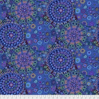 Millefiore Blue 108 inches wide (2-1/2 yd)