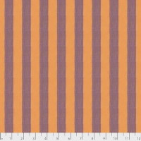 Cantaloupe Wide Shot Cotton Stripe