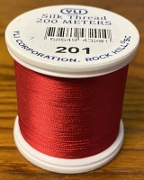 Red Silk Applique Thread (#201)