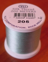 Pale Aqua Silk Applique Thread (#205)
