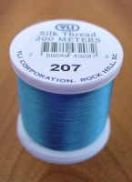 Electric Blue Silk Applique Thread (#207)