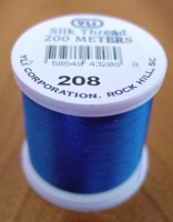 Ocean Blue Silk Applique Thread (#208)
