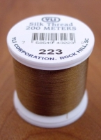 Taupe Silk Applique Thread (#223)