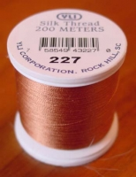 Pale Copper Silk Applique Thread (#227)