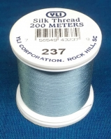 Dusty Blue Silk Applique Thread (#237)
