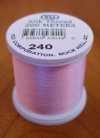 Baby Pink Silk Applique Thread (#240)