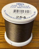 Lt. Taupe Brown Silk Applique Thread (#254)