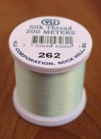Palest Mint Silk Applique Thread (#262)