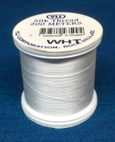 White Silk Applique Thread (WHT)