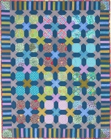 Snowball Crisscross Quilt Fabric Pack