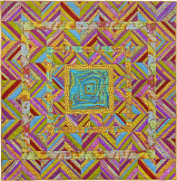 Sunny Zig Zag Quilt Fabric Pack