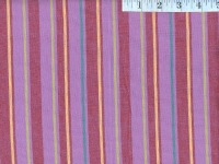 Alternating Lavender Woven Stripes