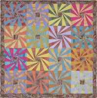 Whirling Stripes Quilt Fabric Pack