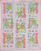 Peaches and Cream Baby Quilt Fabric Pack