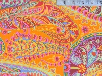 Tangerine Paisley Jungle