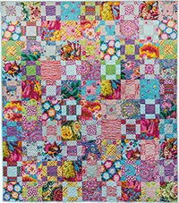 Pastel 9-Patch Quilt Fabric Pack