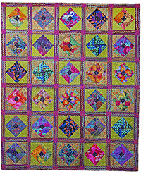 Squares on Point Quilt Fabric Pack