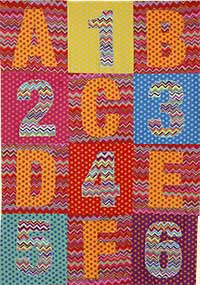 ABC Mini-Quilt Fabric Pack