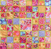 New Red Floral Parade Quilt Fabric Pack